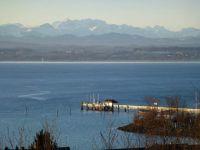 aufgenommen im Winter - mit tollem See- und Alpenblick - Bild 9: Ferienwohnung Fam. Sauer - mit herrlichem See- und Alpenblick -