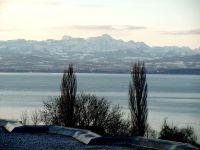 Winterbild zum Säntis - Bild 24: Ferienwohnung Fam. Sauer - mit herrlichem See- und Alpenblick -