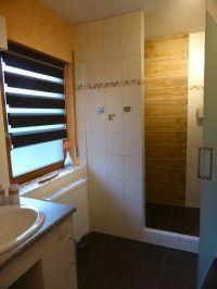 WC, 2 Waschbecken, Dusche 85x140 cm - Bild 9: Ferienwohnung 1, Haus Erhard in Berlin Lichtenrade
