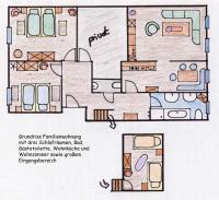 Bild 18: Kinderfreundliche Ferienwohnungen Landhaus Jörg im Allgäu - Familienwohnung