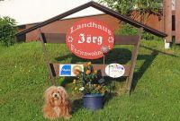 Hunde willkommen im Landhaus Jörg im Allgäu. - Bild 9: Kinderfreundliche Ferienwohnungen Landhaus Jörg im Allgäu - Familienwohnung