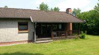 """Die Südseite - mit überdachter Terrasse - Bild 12: Ferienhaus """"Otto"""" in Garding auf Eiderstedt (4 Sterne)"""