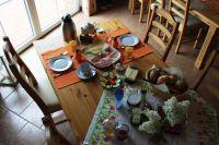 """Frühstück (auf Wunsch für 4,50 € p.P.) - Bild 12: FeWo """"Landhaus Kolbe"""" (Whg. 2) an der ostfriesischen Nordseeküste"""