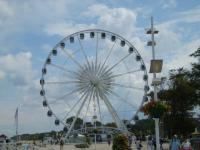 Riesenrad an der Strandpromenade während des Sommers - Bild 9: Kühlungsborn: Villa Strandkuss Ferienwohnung Muschelsucher an der Ostsee