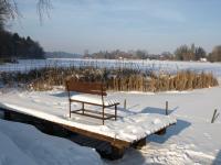 Dargun mit Klostersee im Winter - Bild 18: Ferienhaus am Klosterwald - Dargun