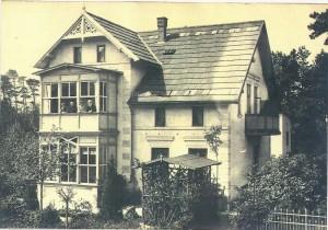 "Ferienwohnung OG *** / Pension ""Villa Erika"" im Seebad Lubmin * Ostsee"