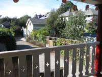"""Blick von der Veranda auf die """"Alley"""" - Bild 6: Portland, Oregon """"Alley House"""""""