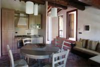 Apartment I. Neri für 3 Personen in der 1. Etage mit Doppelbettzimmer, Einzelbettzimmer, Wohnküche, Badezimmer mit Dusche, Terrasse - Bild 6: Agriturismo San Giusto nahe Florenz und Pisa