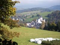 Schwarzenberg, Blick auf Schloß und Kirche - Bild 9: Ferienwohnung Schuffenhauer in Schwarzenberg im Erzgebirge