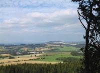 Blick vom Scheibenberg zum Pöhlberg - Bild 9: Ferienhaus Familie Ziller Crottendorf Erzgebirge