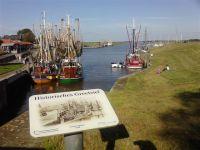 Am Hafen von Greetsiel gibt`s immer was zu sehen..... - Bild 18: Schicke Fewo an der Nordseeküste-Ostfriesland