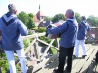 Rysums Mühlenmusikanten geben ein Ständchen - Bild 18: Ferienwohnung Mühlenblick in Rysum bei Greetsiel