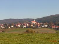 Im Ort Stamsried finden Sie Restaurants, Lebensmittelgeschäfte, Ärzte usw. - Bild 15: AWM-Ferienhaus im Bayerischen Wald, gemütliches Holzblockhaus mit Kaminofen