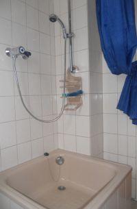 """Bad mit Dusche - Bild 6: Ferienwohnung"""" Am Hemberg""""( Region Diemelsee)"""