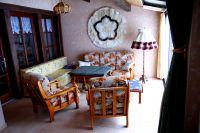 Salon- und Fernsehzimmer - Bild 3: Ferienhaus Domaine du Val des Ragondins im Burgund