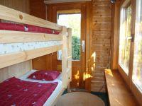 Schlafzimmer mit Etagenbett - Bild 12: Ferienhaus Ostsee (Wohlenberger Wiek) nähe Boltenhagen