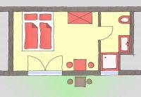 Bild 6: Ferienzimmer Imperia in der Konstanzer Altstadt
