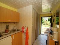 Unsere separate Küche mit Ceran - Kochfeld 2-flammig, Kühlschrank mit Gefrierfach, Kaffeemaschine, Wasserkocher - Bild 9: Fewo Noack Sächsische Schweiz nahe Bad Schandau