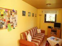 Hier sehen Sie unser neu renoviertes Wohnzimmer mit SAT - TV und Internet WLAN - Anschluß. - Bild 3: Fewo Noack Sächsische Schweiz nahe Bad Schandau