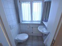 separates WC angrenzend an das zweite Schlafzimmer. - Bild 15: Ferienhaus BUTEN gemütliche Doppelhaushälfte mit Terrasse und Garten
