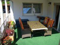 überdachter Balkon - Bild 15: Ferienwohnungen Ute Reinert - Fewo 2 (88-100 m²)