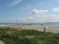Der Hohwachter Sandstrand liegt direkt vor Ihrer Haustür. - Bild 3: Großzügige Ferienwohnung mit Meerblick im Ostseebad Hohwacht