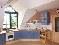Offene, großzügige Wohnküche - Bild 3: Hundefreundliche komfortable Vier-Sterne-FeWo mit Sauna an der Nordsee