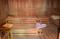 Trockensauna für 8-10 Personen (6 Liegen) - Bild 6: 4* Villa Holliday-230qm-Traumhaus-Garten, Sauna,Pool,Alleinnutzung