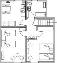 Bild 3: Am Apfelgarten - Wohnung 5 - zentral und ruhig