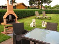 """Bild 9: Ferienhaus """"Ostseetraum""""Urlaub mit Hund an der Ostsee 1,60m hoch eingezäunt"""