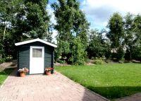 Der Garten mit Rasen und Geräteschuppen. - Bild 21: Weihnachten: 5 Nächte stehen, aber nur 3 zahlen! Großes schönes Ferienhaus