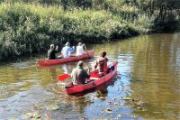 Kanu fahren im Kanal neben dem Park, Kanuvermietung im Park am gute Preise - Bild 30: Sehr schönes Ferienhaus, jetzt € 50,- Rabatt jedes Wochenende bis Mai