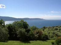 Der Blick von der Hausgruppe Mimosa Richtung See und Ostseite. - Bild 3: Cabiana Residence - 6 Pers.- Ferienwohnung am Gardasee mit Seeblick