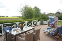 große Terrasse im Süden, weiter Blick in die Natur - Bild 6: mitten in d. Natur, modern,ruhiges Haus für 6 Pers. rollstuhlgerecht