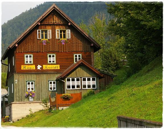Zimmer im haus kreidl in bad aussee im salzkammergut austria for Haus bad aussee