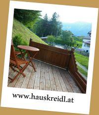 Große Terrasse - Bild 6: Zimmer im Haus Kreidl in Bad Aussee, im Salzkammergut, Austria
