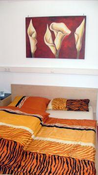 """Schlafzimmer - Bild 6: Ferienwohnung """"Am Jakobusweg"""" in Bamberg Appartement 2"""