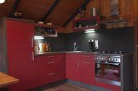 Bild 6: Gemütliches Holzhaus Eder Refugium mit Kamin und Zugang zur Eder