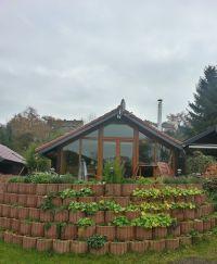 Bild 9: Gemütliches Holzhaus Eder Refugium mit Kamin und Zugang zur Eder
