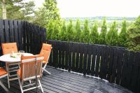 Ein kleiner Vorgeschmack der traumhaften Aussicht von der EifelNest Sonnenterasse. - Bild 3: Idyll. Ferienhaus EifelNest Fernsicht & uneinsehbare Sonnenterrasse & WLAN