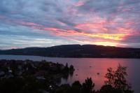 Sonnenuntergang. Sunset. - Bild 6: Ferienwohnung Unterseeblick