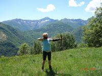 Vor dieser Kulisse den Bogen spannen und selbstgesteckte Ziele treffen - Bild 21: Ferienwohnung I im Cá Árbul (Valle Cannobina in Italien/Lago Maggiore)