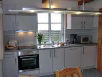 Neu moderne Einbauküche - Bild 3: Nordseeferienhaushälften Möwe mit Hund, W-Lan