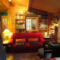 """Hier können Sie entspannen, lesen und auch fernsehen - Bild 6: Reif für die Insel Usedom?... dann in´s neue Blockhaus """"Kajüte""""!"""