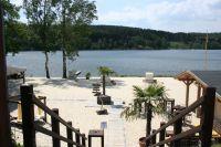 Bild 12: Ferienwohnung mit Terrasse am Möhnesee, Garten, Liegewiese und Grillkamin