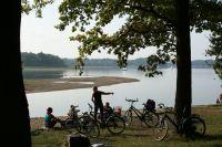 Bild 18: Ferienwohnung mit Terrasse am Möhnesee, Garten, Liegewiese und Grillkamin