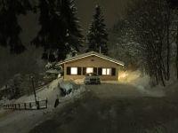 Bild 24: 70m² Ferienhaus mit Panoramablick gegenüber Skihang, Mountaintrailparkour