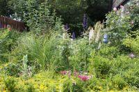 Ich liebe es, wenn im Garten alles grünt und blüht! - Bild 3: Ferienzimmer auf dem Bauernhof