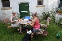 Deshalb sind auch die Hunde immer mit dabei und als Gast herzlich willkommen! - Bild 9: Ferienzimmer auf dem Bauernhof