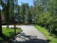 Hier der Privatweg zum Ferienhaus - Bild 9: Ferienhaus LUKAS (vorm. Holl) in Dornum